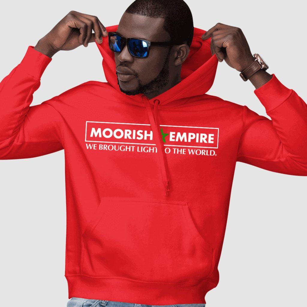Moorish Empire Red Premium Pullover Hoodie