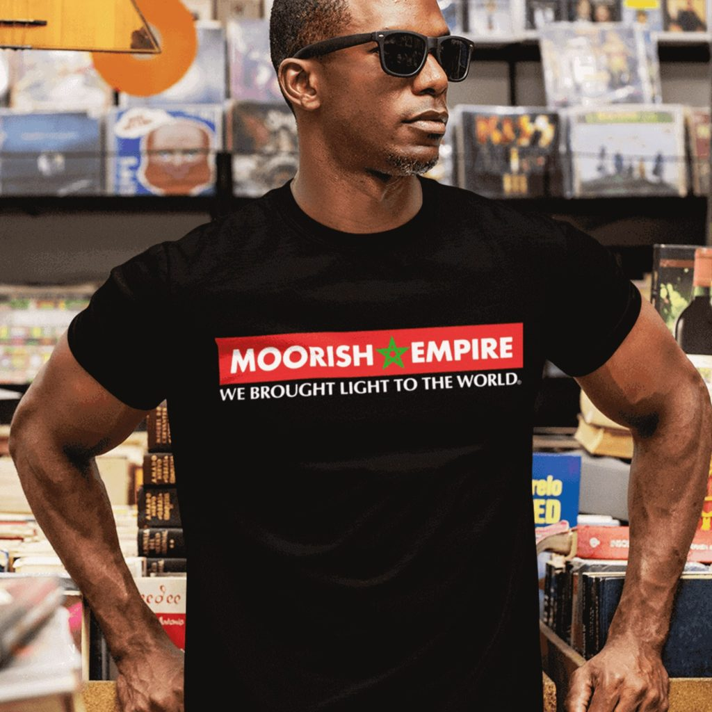 Moorish Empire Triblend Tee