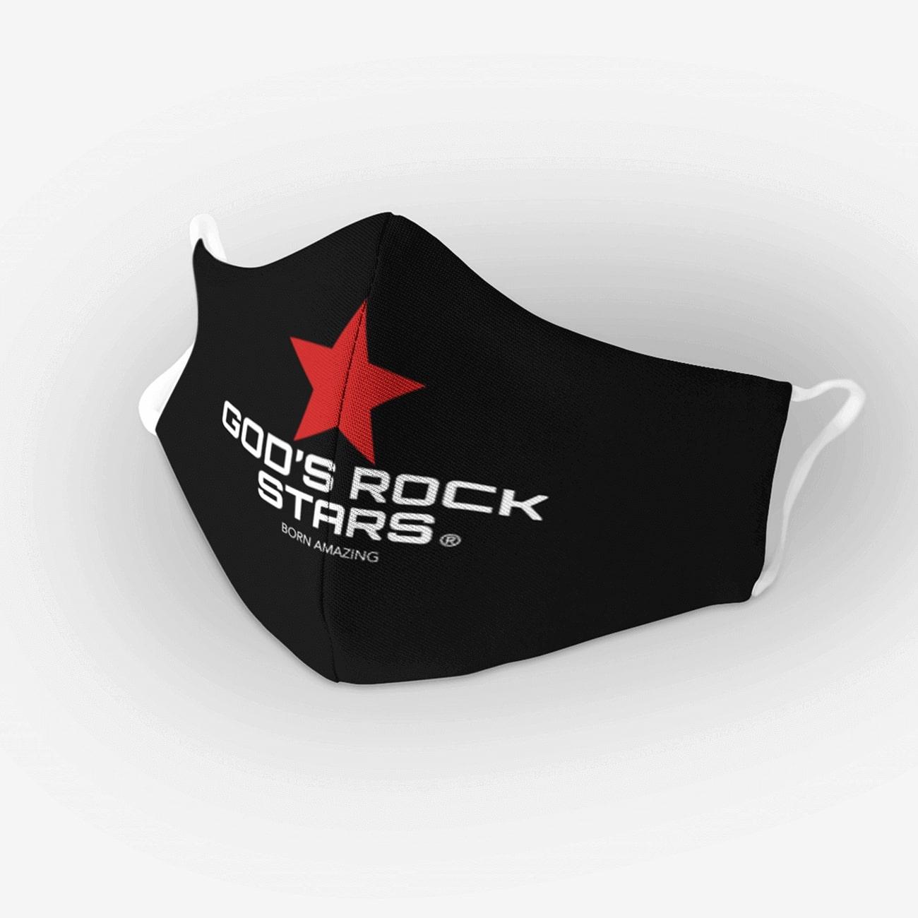 God's Rock Stars Cloth Face Mask