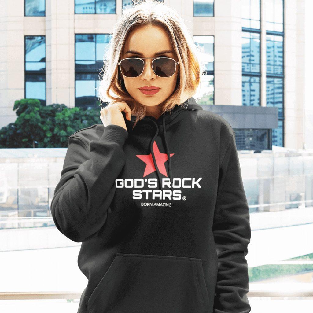 God's Rock Stars Premium Pullover Hoodie