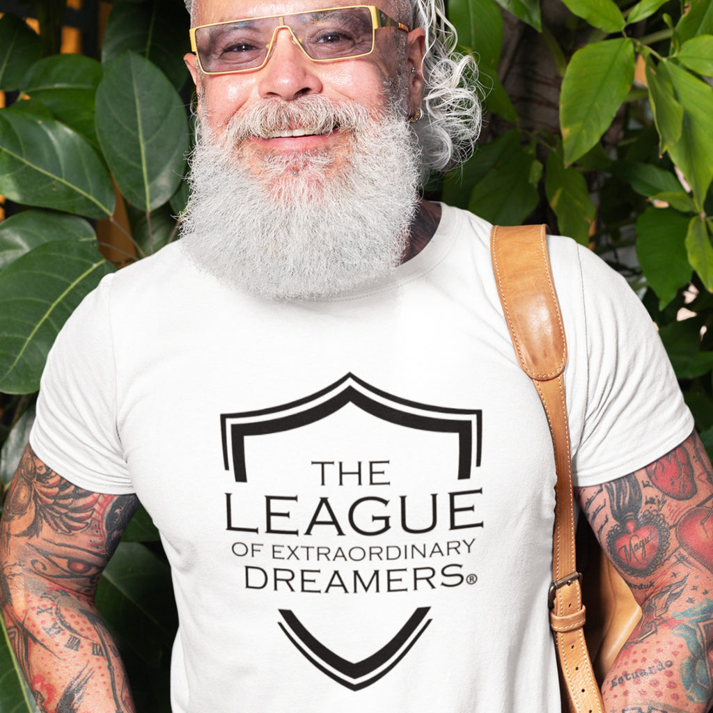 The League of Extraordinary Dreamers Triblend Tee Old Guy