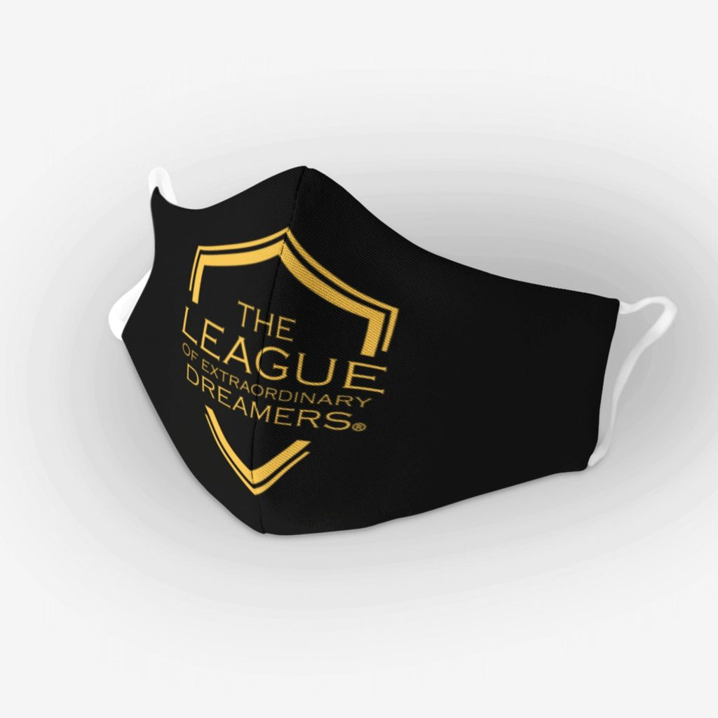 The League of Extraordinary Dreamers Cloth Face Mask